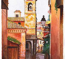 Toledo Iglesia by Dai Wynn