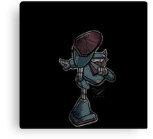 V-Bot Kick Distressed Canvas Print