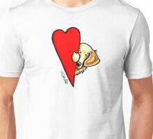 Love Golden Retrievers Unisex T-Shirt
