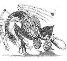 Ovary Dragon by Patina Vaz Dias