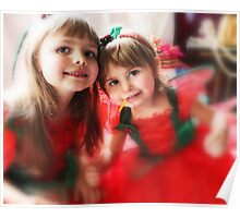 Fairy Girls -Santa's Helpers- Poster
