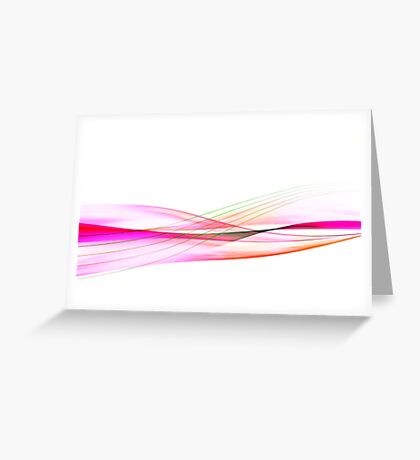 Waves of Passion Greeting Card