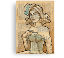 Iron Woman 7 Canvas Print