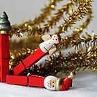 Season&#x27;s Greetings -Christmas Pegs- by Evita