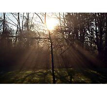 New Dawn fades Photographic Print