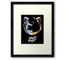 Daft Puff Framed Print