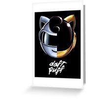 Daft Puff Greeting Card
