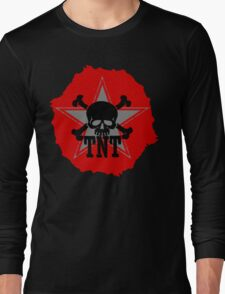 TNT skull Long Sleeve T-Shirt