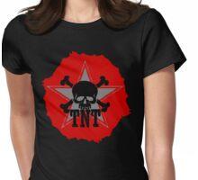 TNT skull Womens Fitted T-Shirt