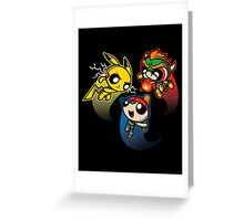 Super Puff Bros 4 Greeting Card