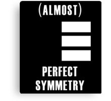 (Almost) Perfect Symmetry Canvas Print