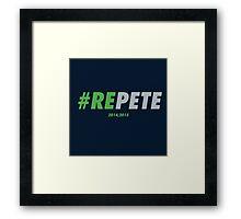REPETE Framed Print