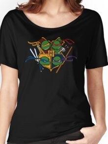 TMNT at Hogwarts Women's Relaxed Fit T-Shirt