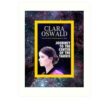 Clara Oswald on National Geographic Art Print