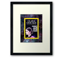 Clara Oswald on National Geographic Framed Print