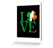 Irish Love Greeting Card