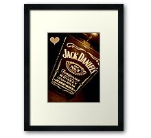 For the love of Jack! Framed Print