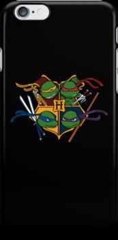 TMNT at Hogwarts by bananna620