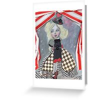 """Alice"" Greeting Card"