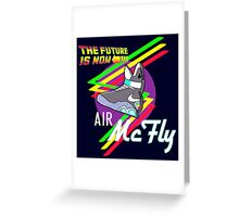 Air McFly  Greeting Card