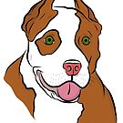 Red Nosed Pit by rmcbuckeye
