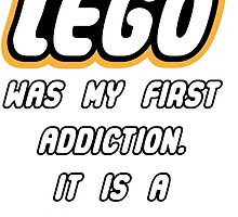 Addicted to Lego by Jane McDougall