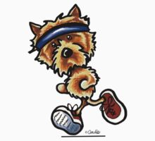 Run like a Norwich Terrier by offleashart