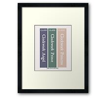 The Infernal Devices by Cassandra Clare Framed Print