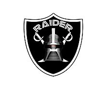 Cylon Raider Logo Photographic Print