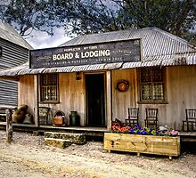 Board & Lodging ~ Australian Pioneer Village, Wilberforce by Rosalie Dale
