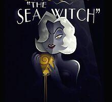 URSULA THE SEA WITCH  by NightLightz