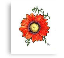 Flower From my Garden Canvas Print