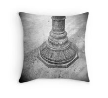 Parisian Lamppost Throw Pillow