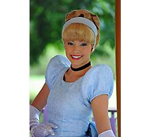 Cinderella at Hong Kong Disneyland. Photographic Print