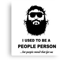 people person Canvas Print