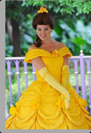 Belle at Hong Kong Disneyland. by Ralph de Zilva