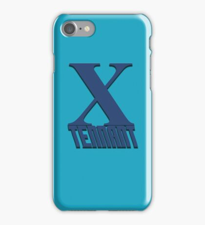 Doctor Who: X - Tennant iPhone Case/Skin