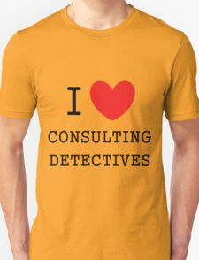 I Love Consulting Dectives T-Shirt