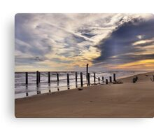 Peace at the Beach Canvas Print