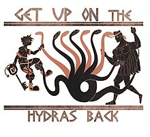 Get Up On The Hydra's Back by JinnyMoose