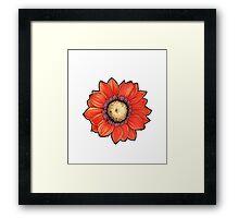 flower motif Framed Print