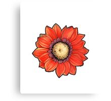 flower motif Canvas Print
