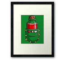 A Hero's Red Potion Framed Print