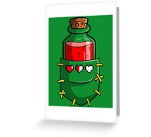 A Hero's Red Potion Greeting Card
