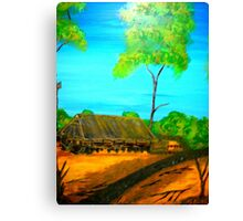 Outback Life Canvas Print
