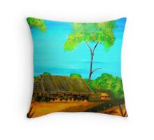 Outback Life Throw Pillow