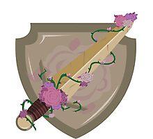 Flower Sword Photographic Print