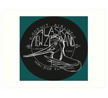 Flight of the Godwit Art Print