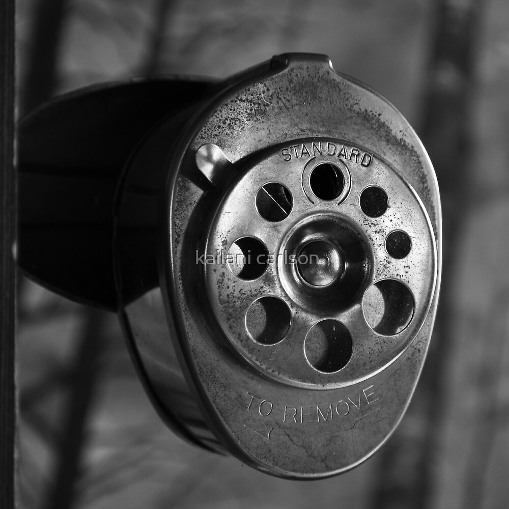 Urbex Pencil Sharpener by MJD Photography  Portraits and Abandoned Ruins