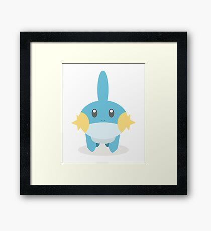 Mudkip - Pokemon Framed Print